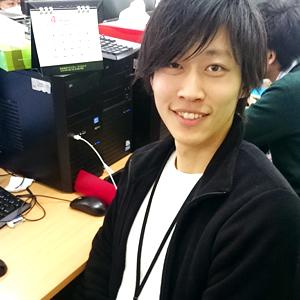 システム開発事業部 鎌田(2015年入社)